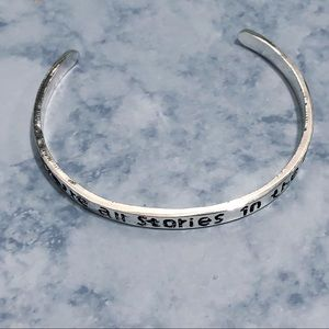 We're All Stories in the End Doctor Who Bracelet